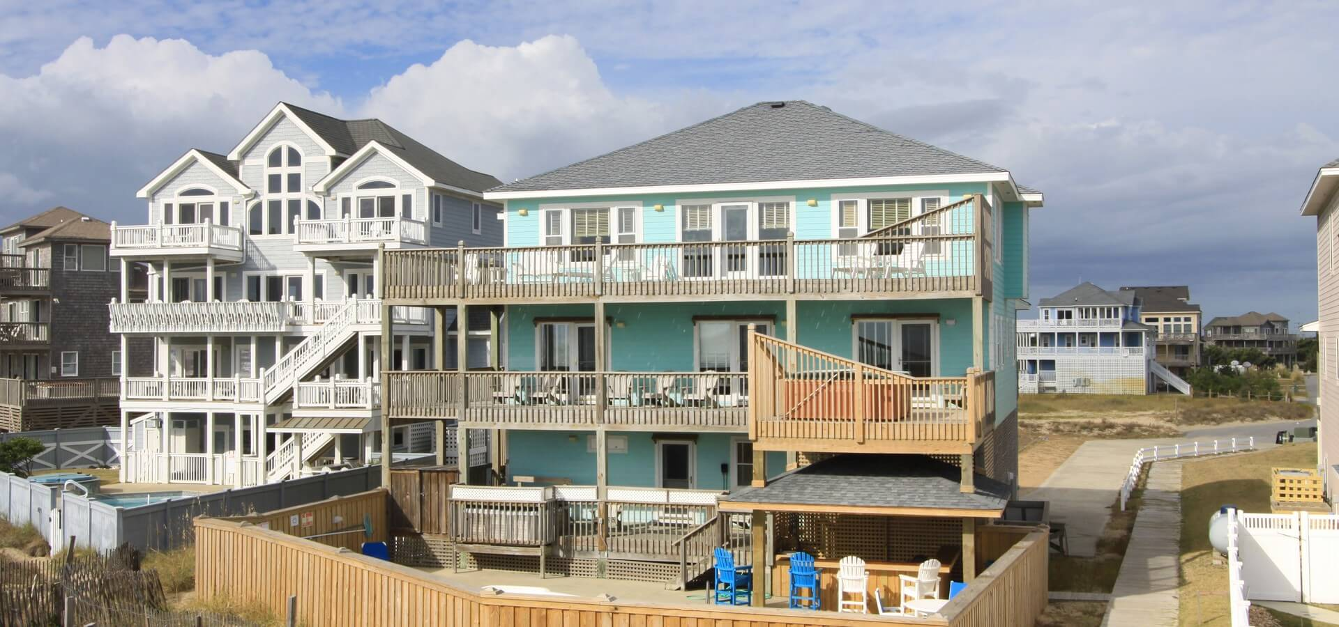 Custom homes renovations by hatteras island construction for Hatteras homes